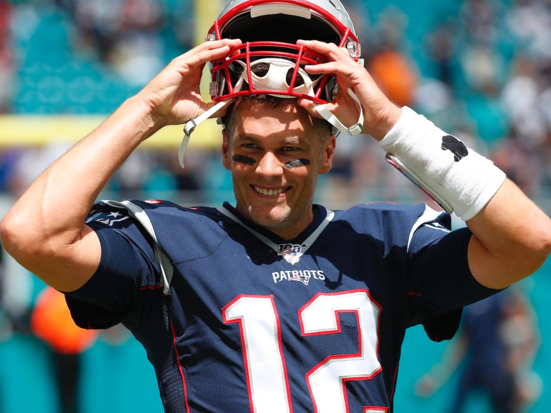 Tom Brady is surprised more quarterbacks don't follow his methods to avoid footballs getting wet from 'swamp ass'