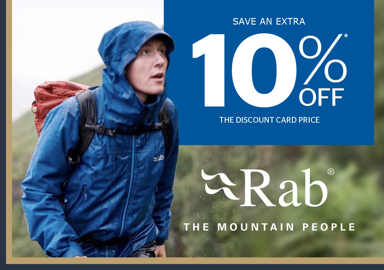 10% off all Rab