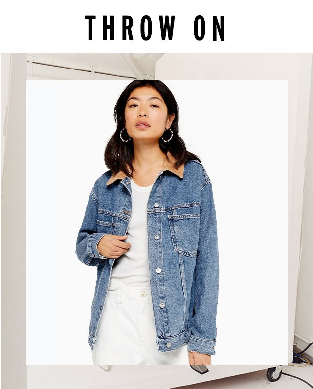 …and the best denim pieces to go with it