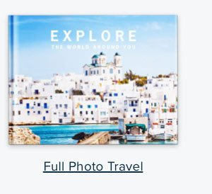 Full Photo Travel - Create Your Book