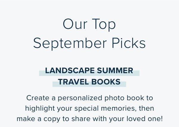 Our Top September Picks - Landscape Summer Travel Books