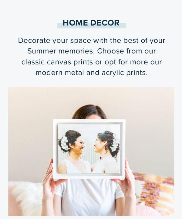 Home Decor - Canvas Prints