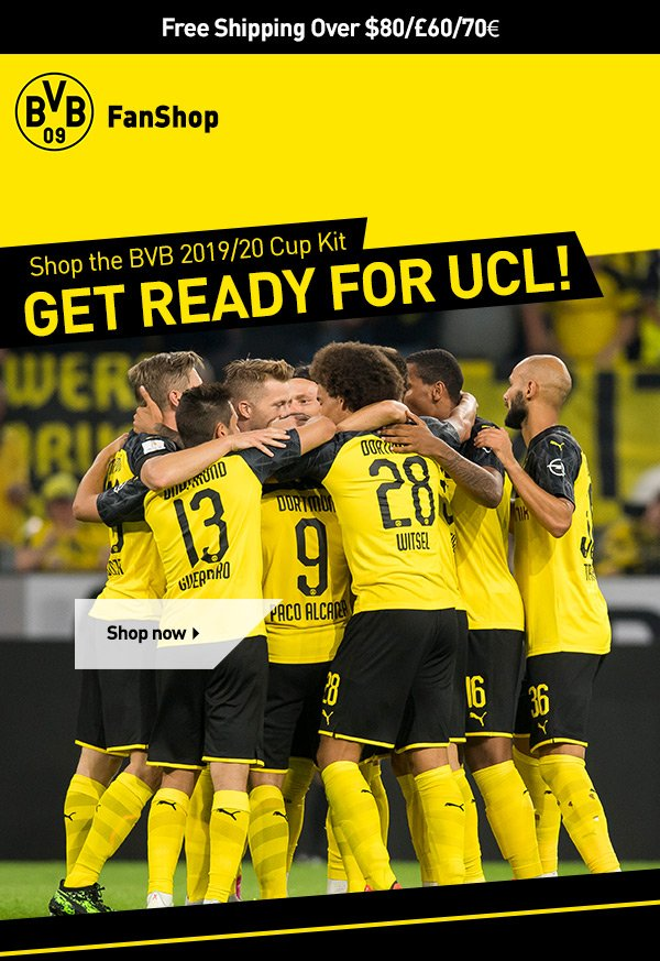 Bvb Borussia Dortmund Get Ucl Ready With Our 19 20 Cup Kit Milled