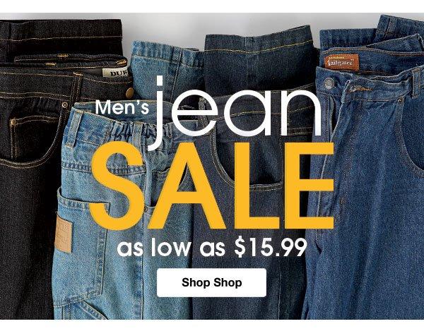 Shop Men's Jean Sale!