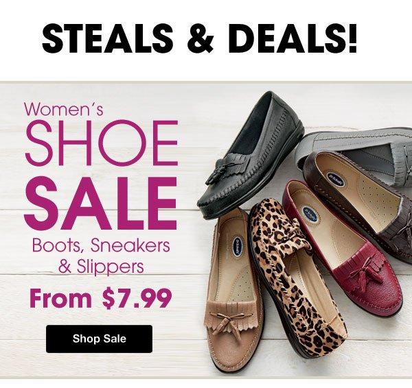 Shop Women's Shoe Sale!