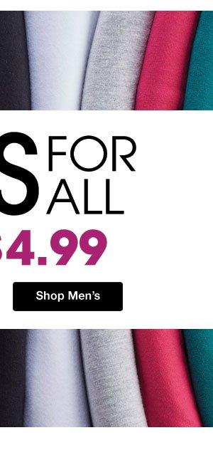 Shop Men's Tees!