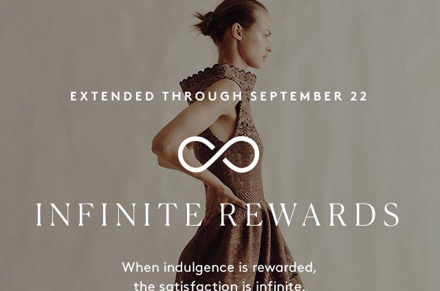Infinite Awards has been extended until September 22.