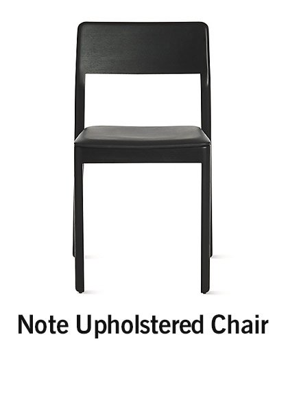 Note Upholstered Chair