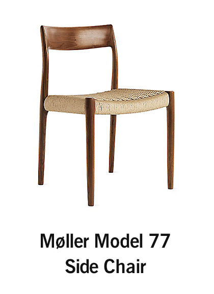 Møller Model 77 Side Chair