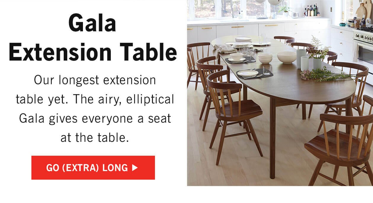 Gala Extension Table