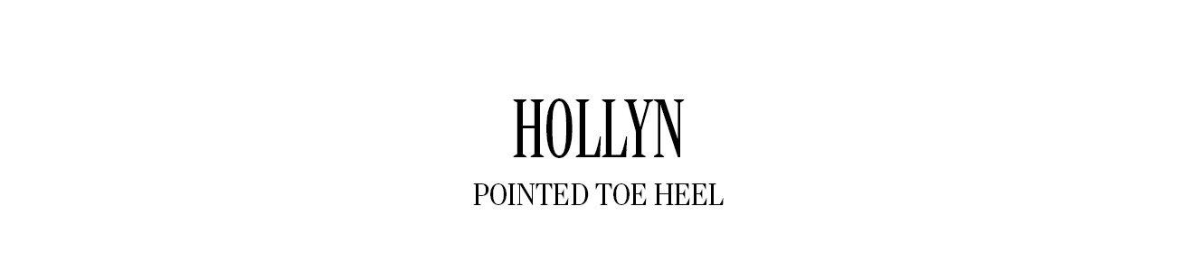 HOLLYN POINTED TOE HEEL