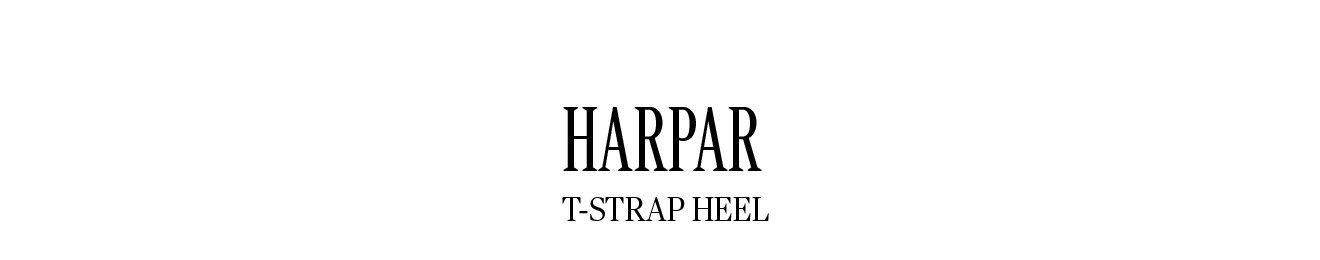 HARPAR T-STRAP HEEL