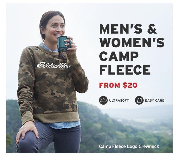 MEN AND WOMEN CAMP FLEECE