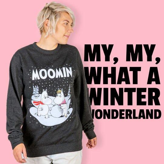 Official Womens T Shirt - Moomintroll Moomin Moominvalley