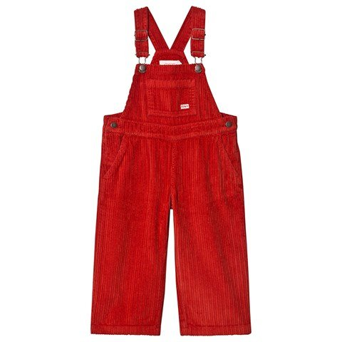 Tinycottons Red Cord Overalls