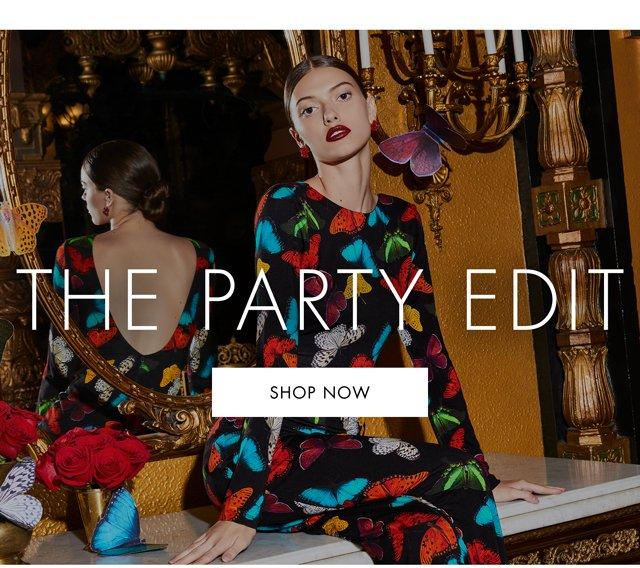THE PARTY EDIT - SHOP NOW.