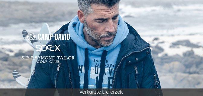 Camp David + Soccx + Sir Raymond Tailor