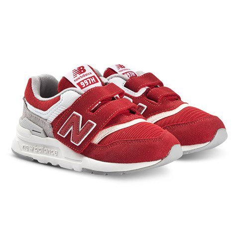 New Balance Red & White Lifestyle Trainers