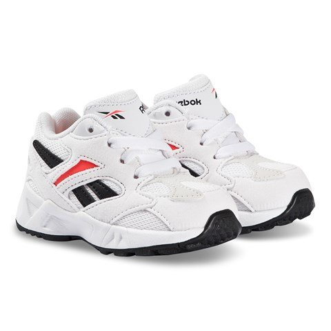 Reebok White Aztrek 96 Infants Trainers