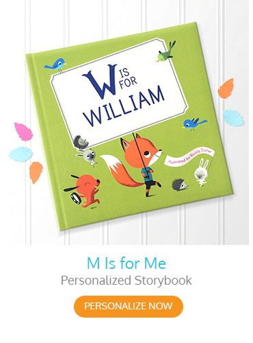 M is for Me Personalized Storybook
