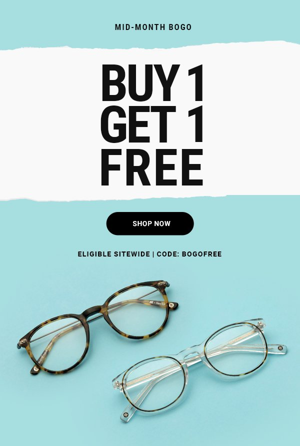 Buy One Get One FREE >