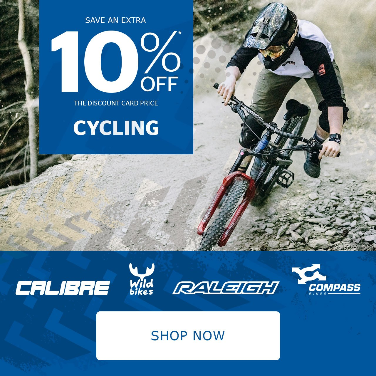 Save an extra 10% off Camping