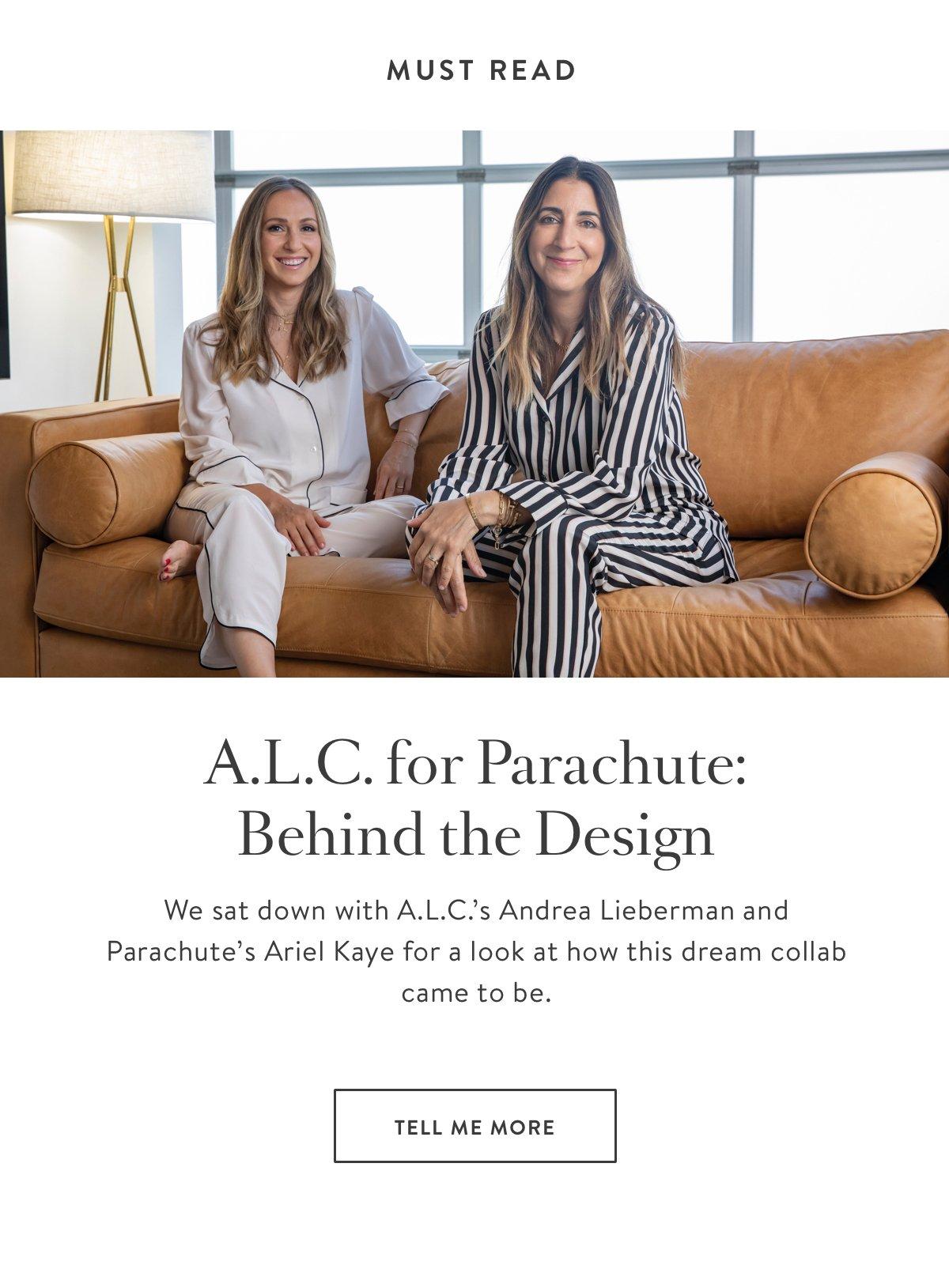 ALC for Parachute Design Story