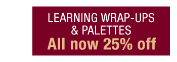 Learning Wrap-up & Palettes