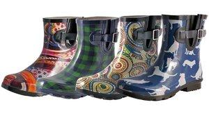 Nomad Footwear Women's Printed Rain Boots