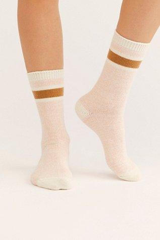 Quincy Cozy Stripe Socks