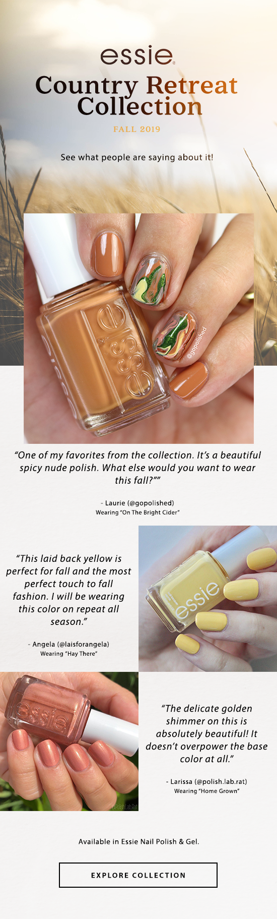 Shop Essie Country Retreat Collection
