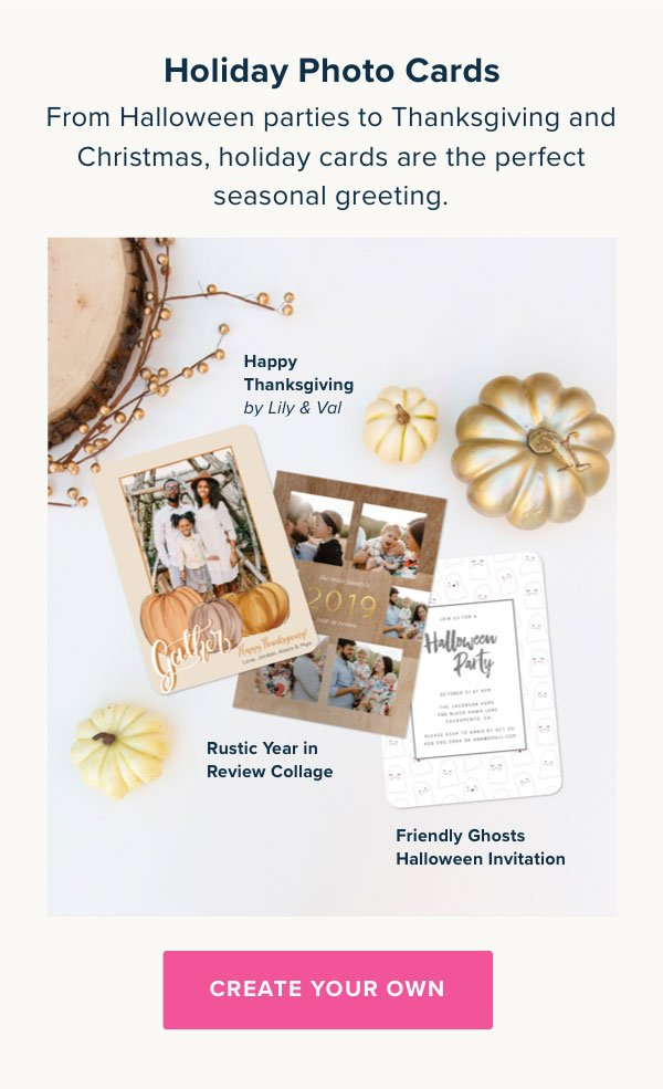 Holiday Photo Cards - Create Now