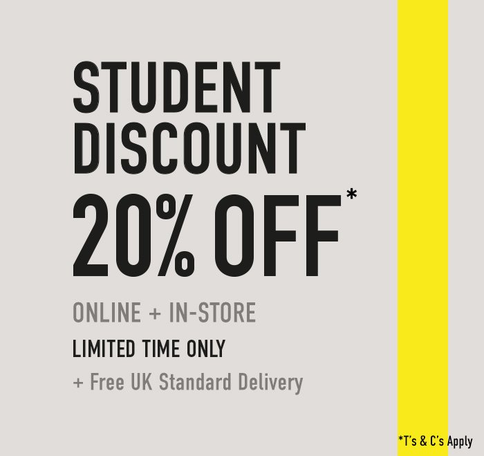 get new sale shades of office.co.uk: Students, take 20% off! | Milled