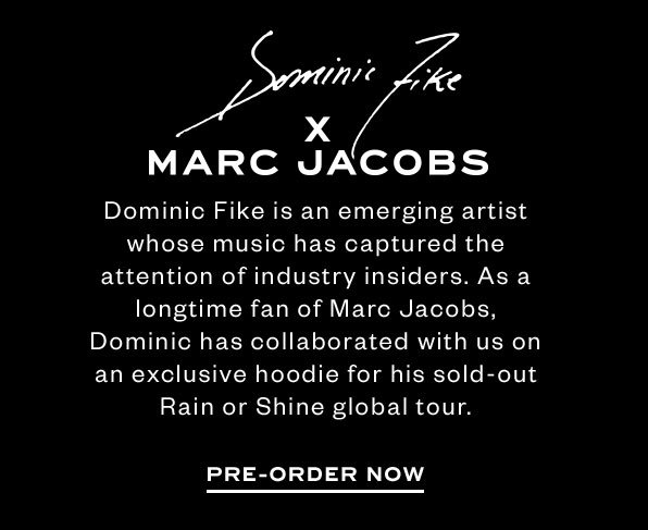 Dominic Fike x Marc Jacobs