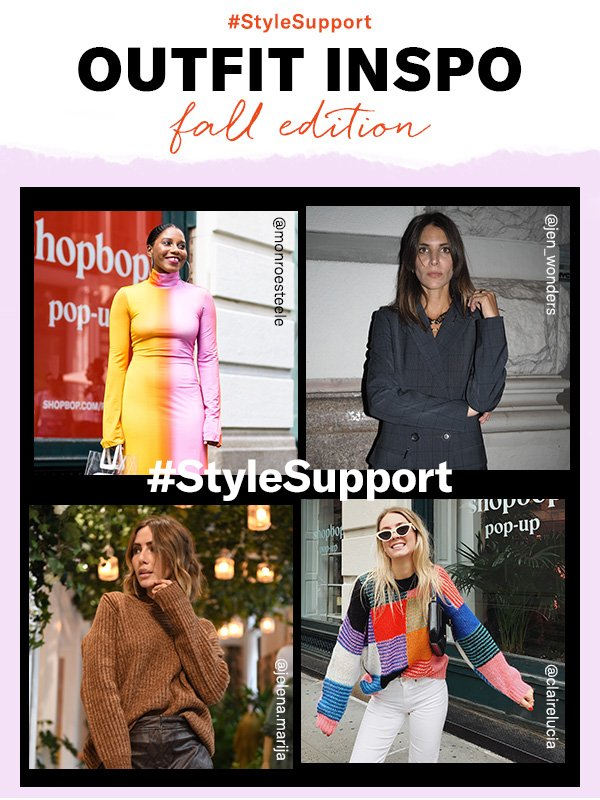How our favorite style muses are wearing the season's top trends (take notes!)