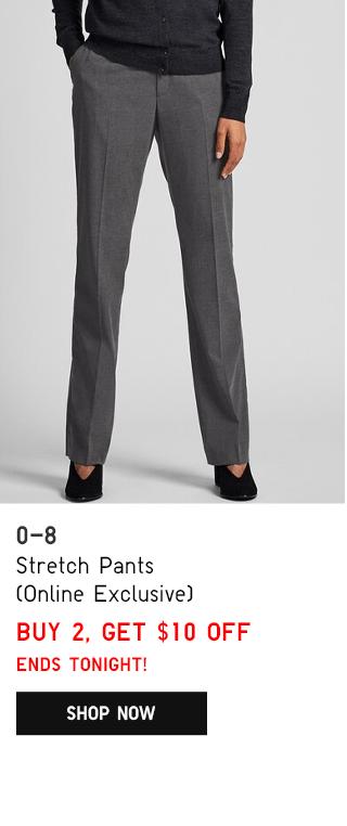 BODY2 PDP1 - WOMEN STRETCH PANTS