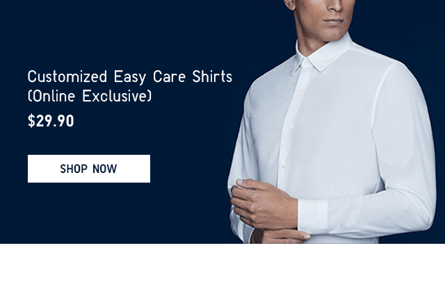 BODY3 - MEN CUSTOMIZED EASY CARE SHIRTS