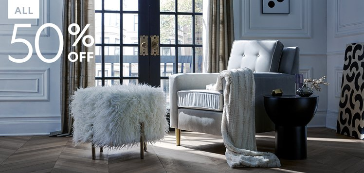 The Half-Off Furniture & Seating Event
