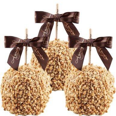 Image of Gourmet Caramel Apples - Classic Peanut or Sprinkles - 3 pack