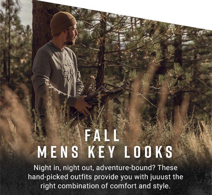 Fall Mens Key Looks