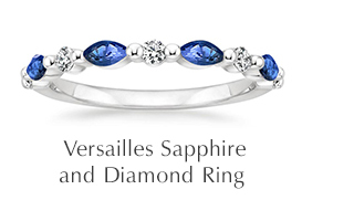 Versailles Sapphire and Diamond Ring