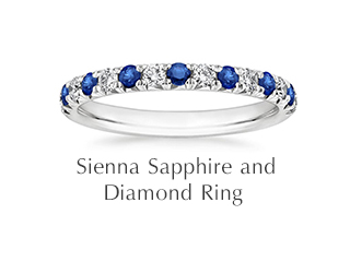 Sienna Sapphire and Diamond Ring