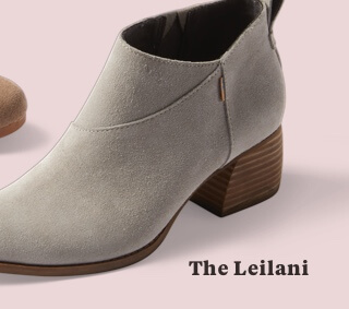 Drizzle Grey Suede Women's Leilani Booties