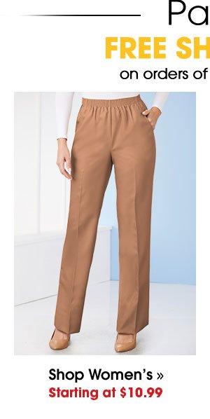 Shop Women's Pants Starting at $10.99