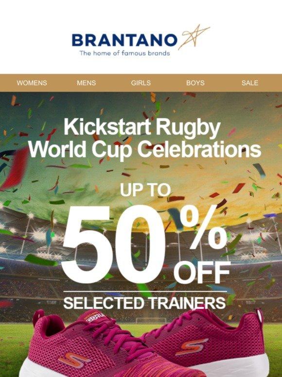 Kickstart Rugby World Cup Celebrations