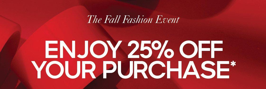 The Fall Fashion Event