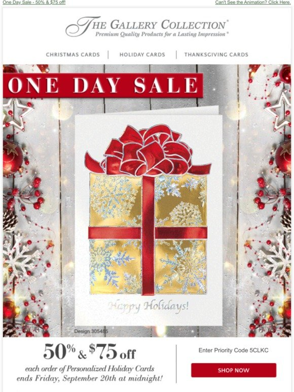 The Gallery Collection Christmas Cards.Gallery Collection Friday Flash Sale Milled