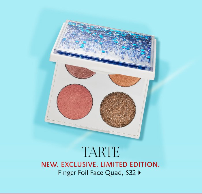 Tarte Foil Finger Face Quad