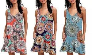 Leo Rosi Women's Beth Dress. Plus Sizes Available.