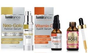 Lumirance Retinol and Vitamin C Anti-Aging Skincare Duo